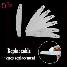 Beauty GaGa Nail Files Buffers With 4pcs 80# + 4pcs 100# + 4pcs 150# of Grit Replacement Pads Nail Files Manicure Tools Kit