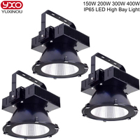1PCS 150W 200W 300W 400W LED High Bay Light Workshop Warehouse Exhibition hall Stadium Shipyard Mine Gas station Supermarket