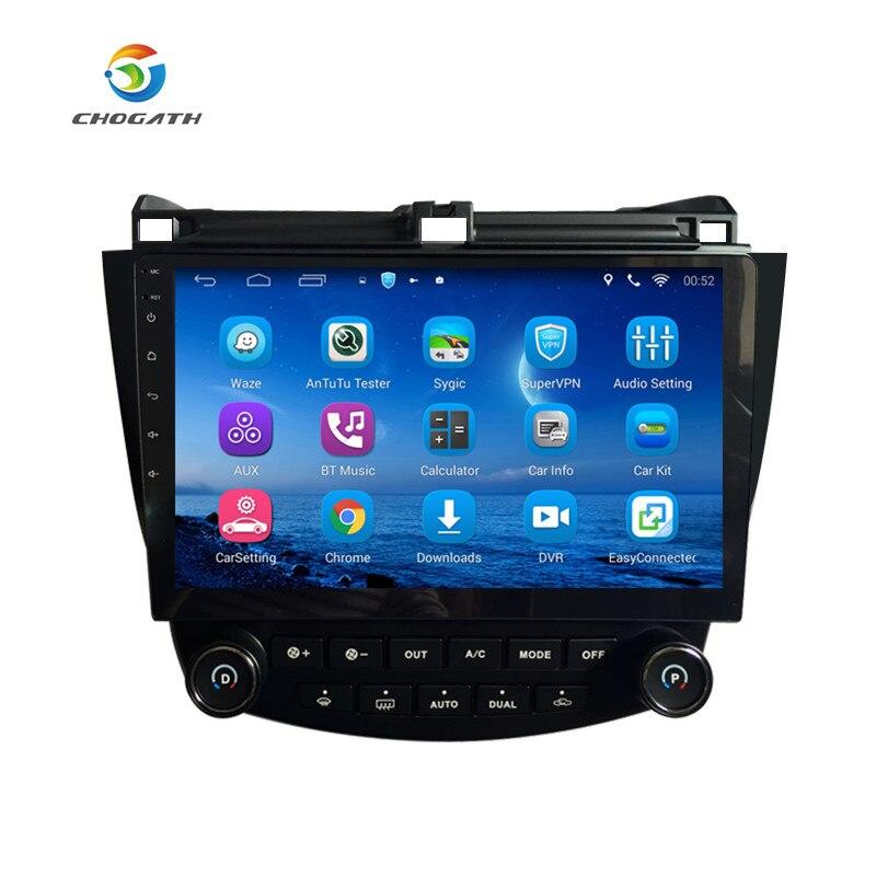 imágenes para ChoGath (TM) 10.2 Pulgadas Android 6.1 de Navegación GPS para Honda Accord 7 2003-2007 Unidad Principal con la pantalla 1080 P de Vídeo Bluetooth Autoradio