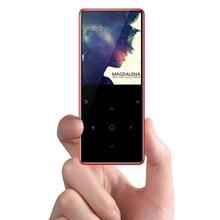 IQQ ny version Bluetooth touch MP3 musikspelare Slim Walkman Passar för att gå på gång och klättra Bulit-in 8G / 16G och högtalare