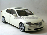 White 1 18 LEXUS IS350 2006 AutoArt AA Diecast Model Car Aluminum Die Casting Products Craft