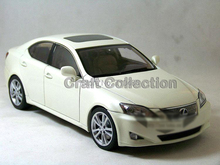 White 1/18 LEXUS IS350 2006 AutoArt AA Diecast Model Car Aluminum Die casting Products Craft Collection Brinquedos