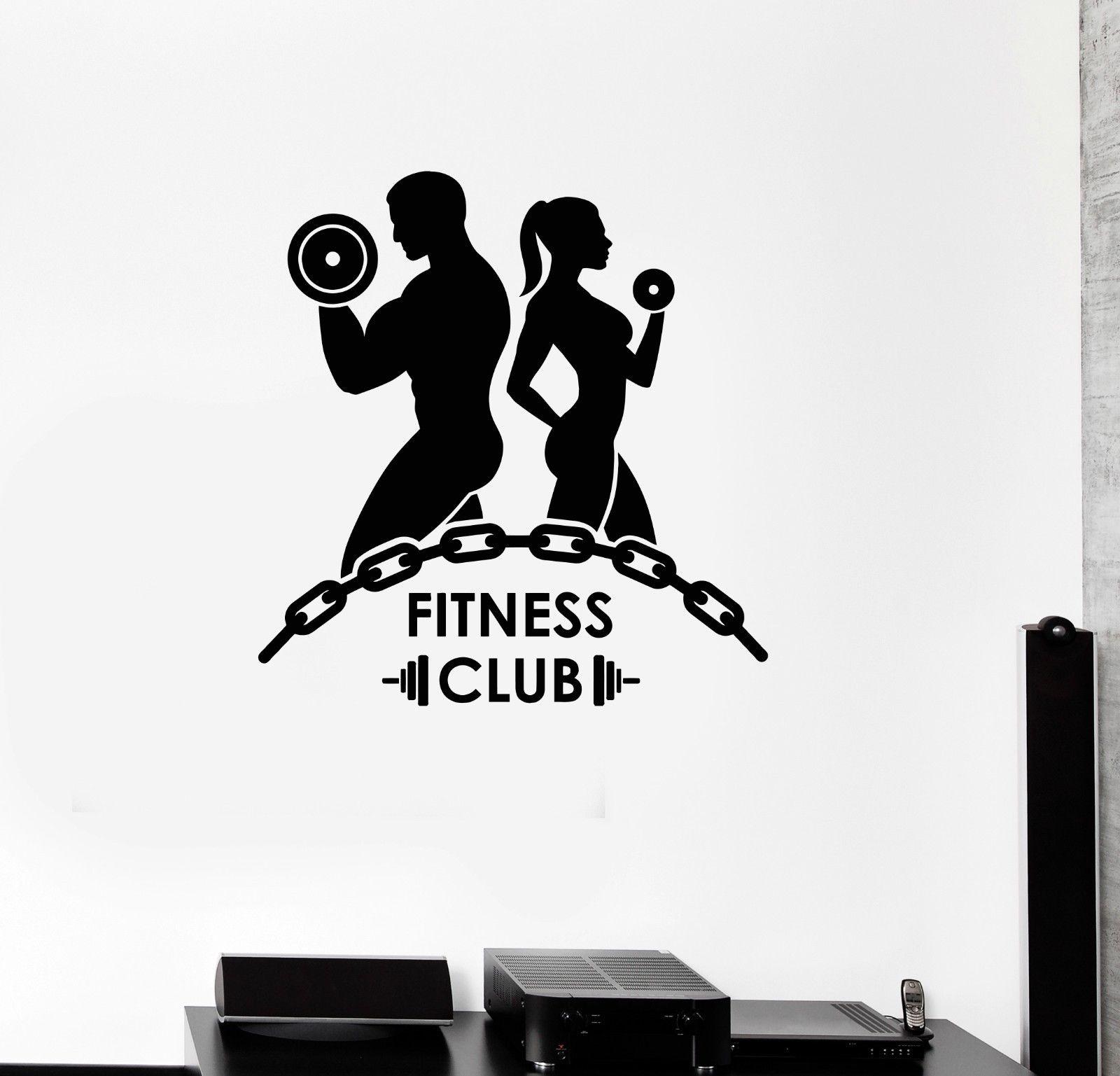 wandtattoo fitness prinsenvanderaa. Black Bedroom Furniture Sets. Home Design Ideas