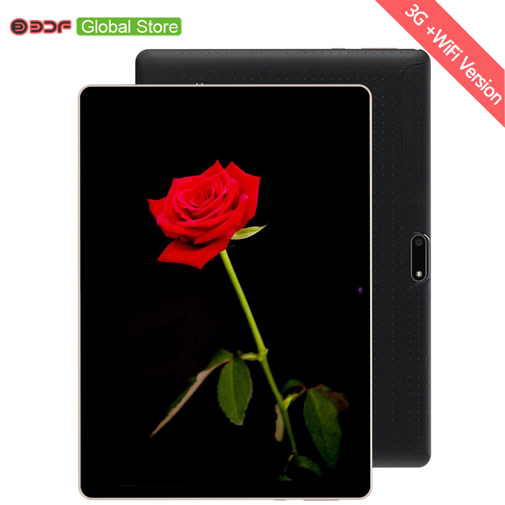 10 Inch Phone Call Android Quad Core Tablet Pc Android 7.0 4GB 32GB WiFi 3G External FM Bluetooth 4G+32G Tablets Pc 5Mp camera-in Tablets from Computer & Office    1
