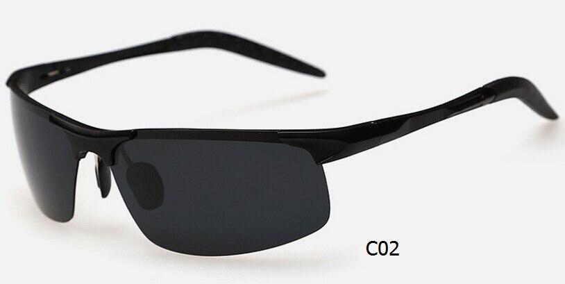 Haute Qualité Aviation Aluminium En Alliage De Magnésium Hommes lunettes de  Soleil Polarisées Sport Conduite Pêche Lunettes de Vol Lunettes UV400 cd3e0a156187