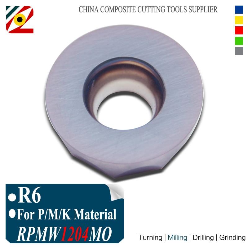 10 unids / lote R6 RPMW1204MO RPMW1204 MO EP5250 Inserciones de - Máquinas herramientas y accesorios - foto 1