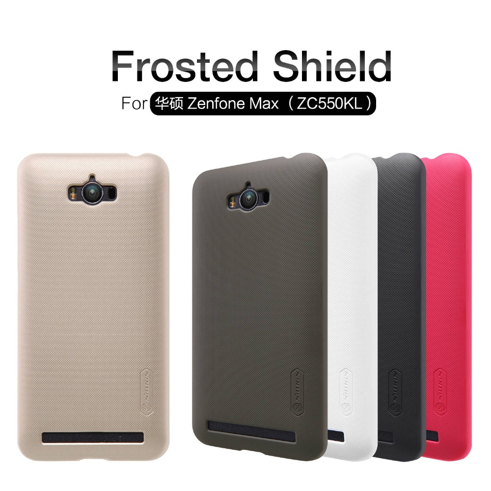 NILLKIN Super Frosted Shield hard case cover For Asus ZenFone Max ZC550KL phone skin cases screen