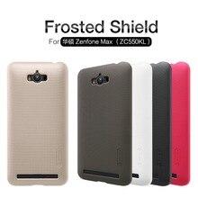 NILLKIN Super Frosted Shield жесткий чехол для Asus Zenfone Max ZC550KL телефон случаях кожи + защита экрана + розничной упаковке