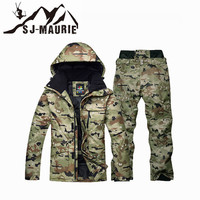 15 Colors Men Waterproof Thermal Ski Jackets + Snowboard Pants Outdoor Snowboarding Snow Ski Suit Winter Ski Coat Men