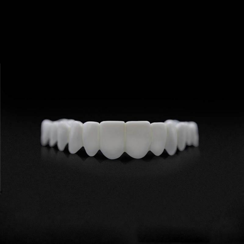 Teeth Cosmetic Instant Smile Comfort Fit Flex Cosmetic Teeth Denture Teeth Top Veneer Massage Relaxation 4