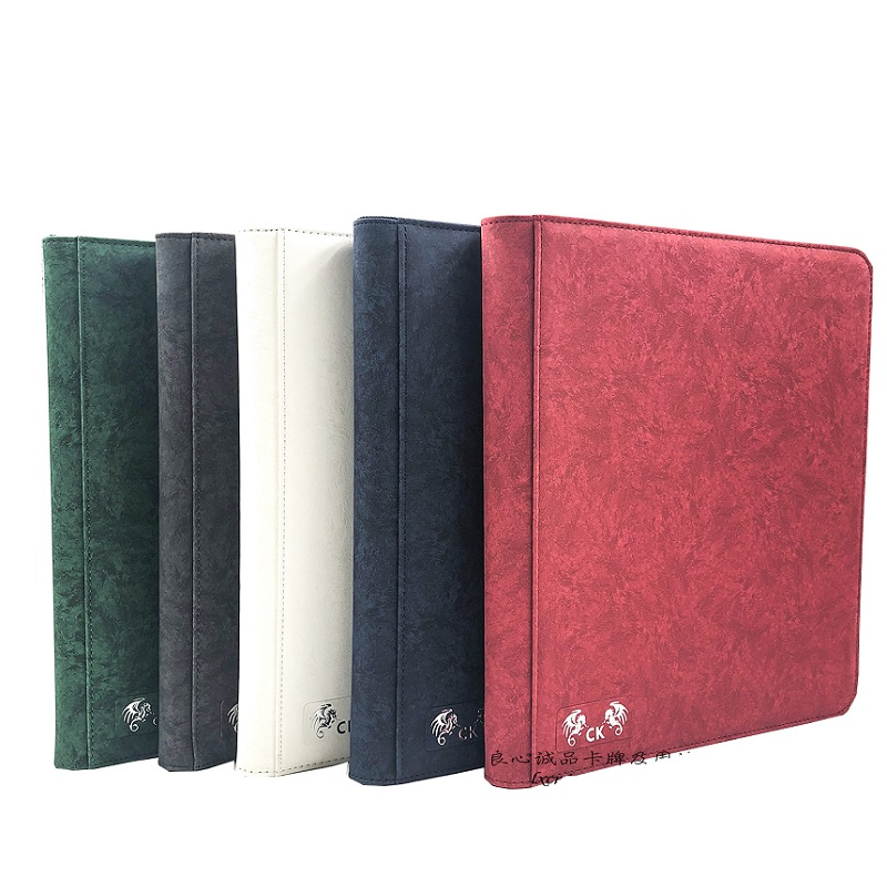 480cards Capacity Cards Holder Binders Albums With Zipper For Pokemen/CCG/Magic/Yugioh Sealed Board Game Card Book Sleeve Holder