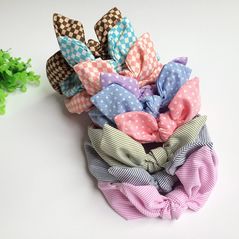 Baby Makeup Kids Girl Headband Lovely Dot Bow Elastic Hairband Headwear Accessories 1pc soft lovely kids girl cute star headband cotton headwear hairband headwear hair band accessories 0 3y hot