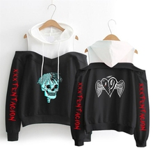 Fashion xxxtentacion ladies hoodie sports hooded casual XXX Tentacion strapless