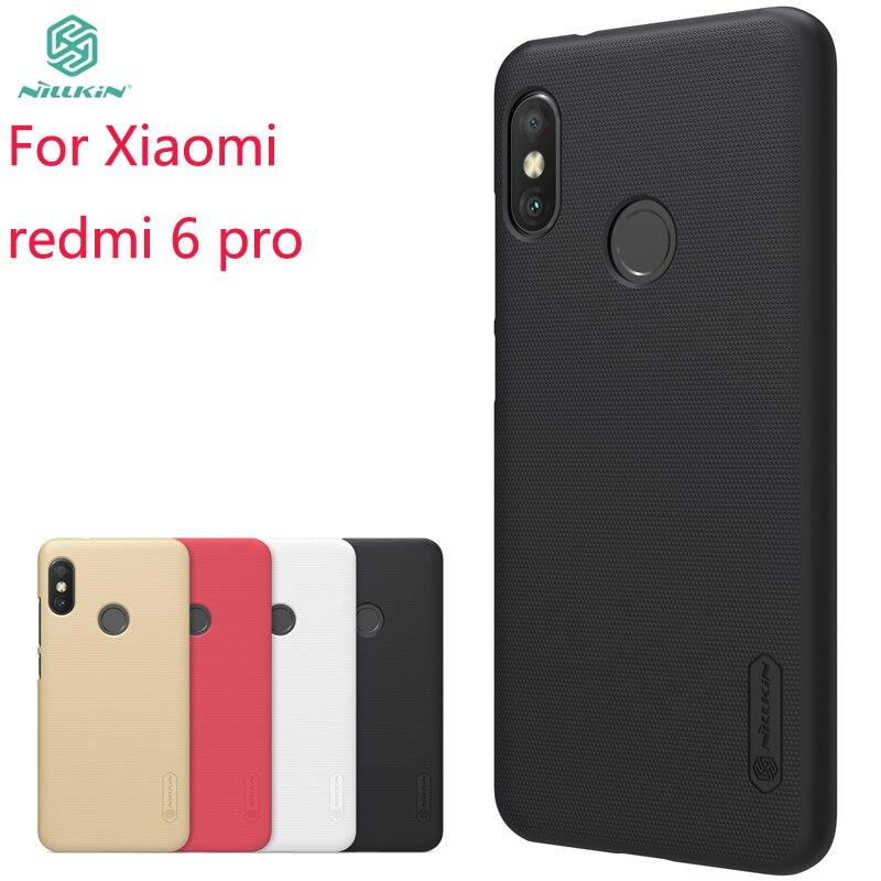 For Xiaomi redmi 6 pro /xiaomi mi a2 lite Case Cover NILLKIN Pc Hard Case For Xiaomi redmi 6 pro/mi a2 lite Fitted Cases 5.84''
