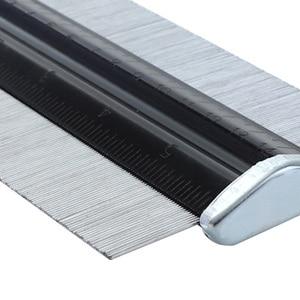 Image 3 - Profile Gauge 150mm/6 inch Metal Contour Gauge Duplicator Marking Gauge For Deep Decorating Template Copying General Tools