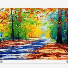 Hood-Cover Screen 75inch Scenic for Lcd-Tv PC Painting Floral Landscape Waterproof Decorative