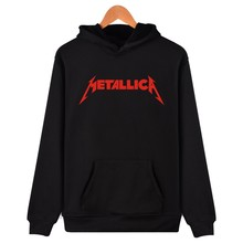 Famous Metallica Hooded Hoodies Men Hip Hop Popular American Rock Band Hoodies And Sweatshirts For Couples Winter Funny Clothes