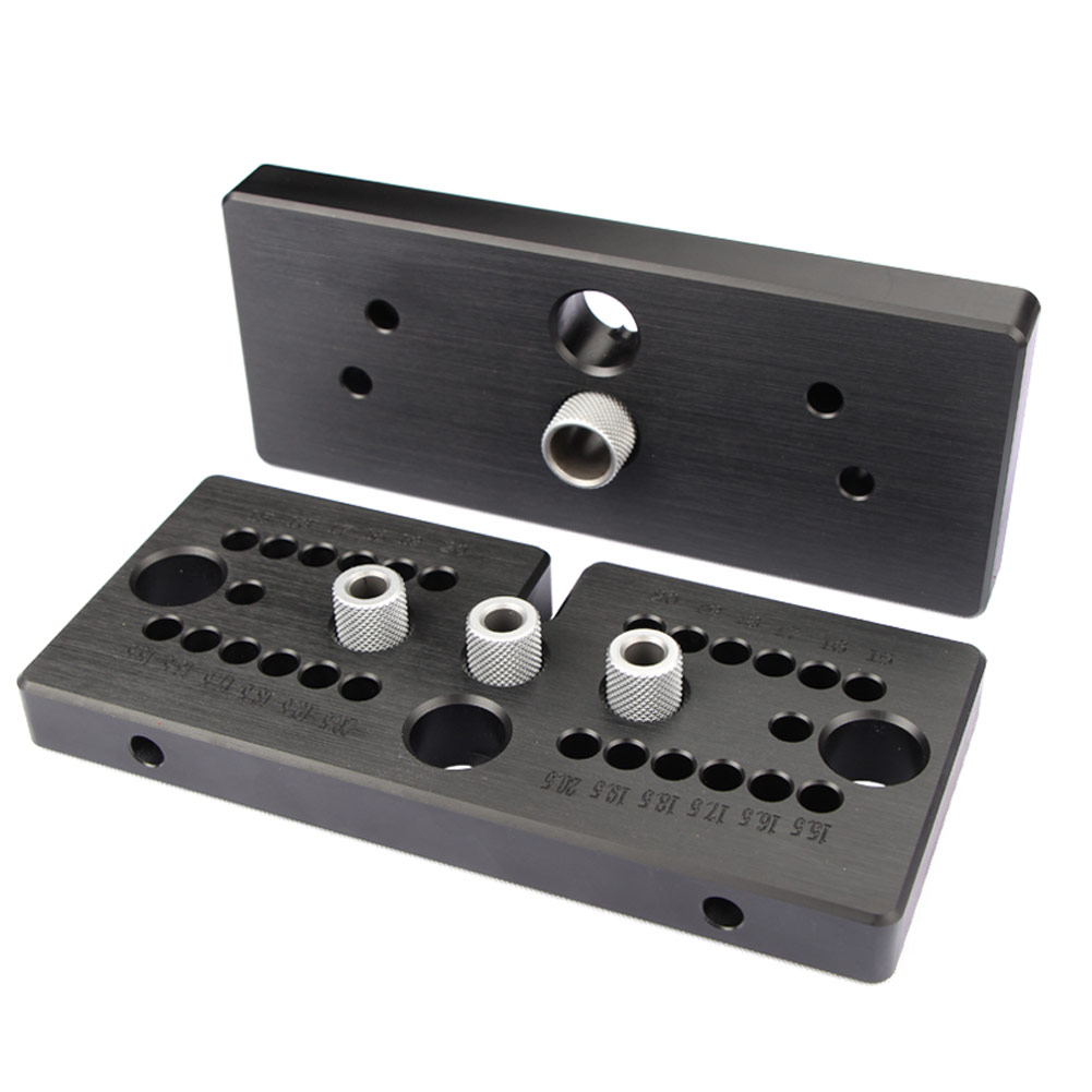 3 In 1  Hole Puncher Locator Jig Drill Bit Set Woodworking Pocket Hole Jig Kit Angle Drill Guide Set For DIY Carpentry Tools
