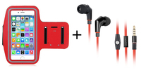 Wallytech For iPhone6/6 Plus Earphone with Sports Armband Case cover for you enjoy your sports and music