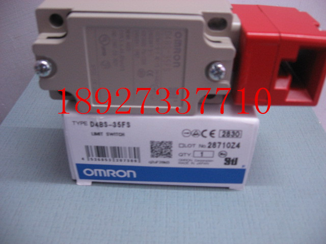 [ZOB] Supply of new original omron safety door switch D4BS-35FS / D4NS-4AF substitute  --2PCS/LOT [zob] supply of new original omron omron photoelectric switch e3z t61a 2m factory outlets 2pcs lot