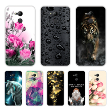 Case for Huawei Honor 6C Pro 5.2 Cover Silicone Coque Fundas 6 C V9 Play TPU Protective