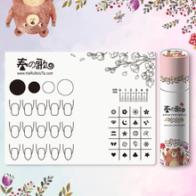 1Pc Silicone Stamping Mat 28*21cm Foldable Washable Pad with Box Manicure Nail Art Tool