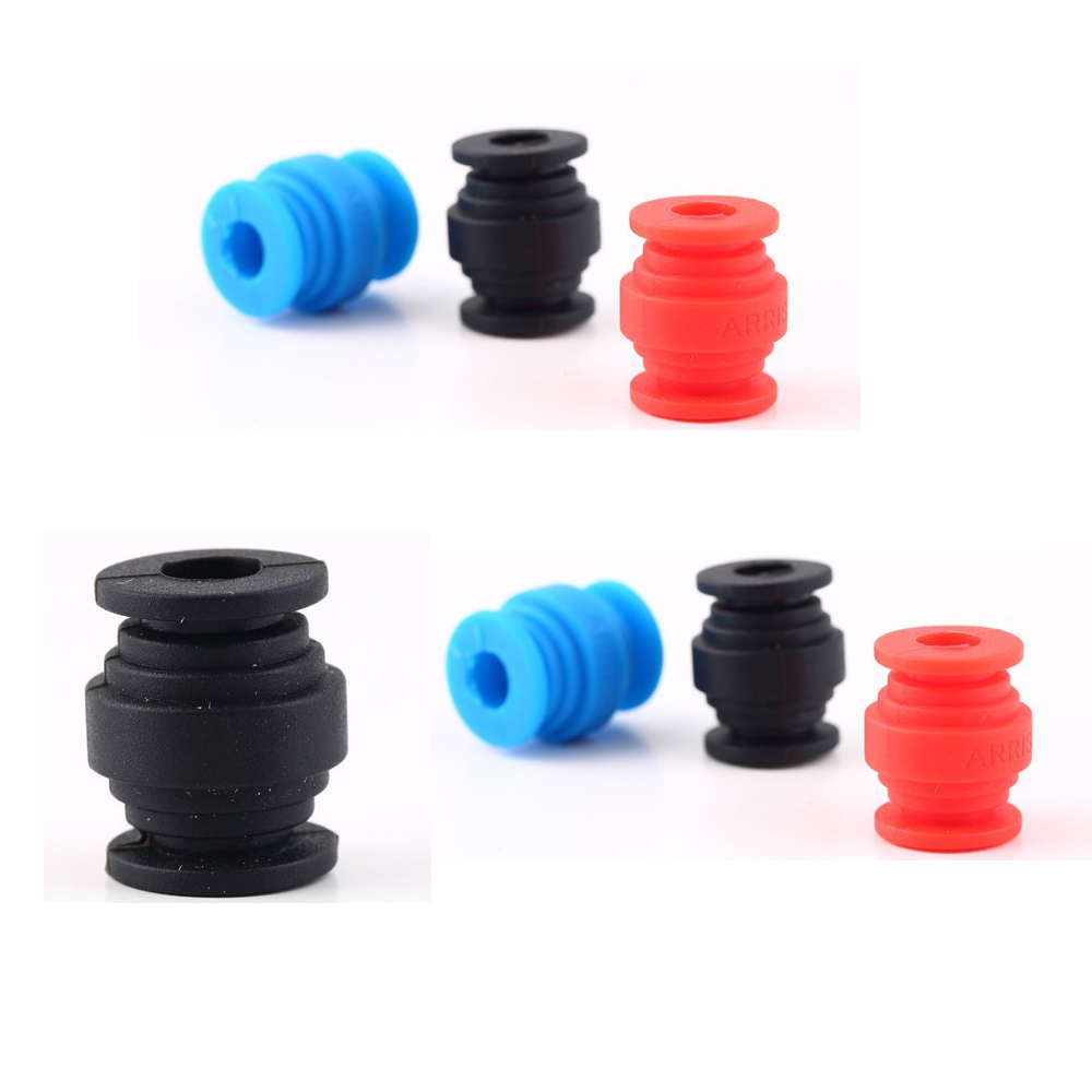 4pcs/lot Shock Absorption Damping Ball for FPV Gimbal Camera Mount PTZ Red blue black for choose f10043 carbon fiber camera gimbal mount fpv shock absorber damping ptz for phantom quadcopter multicopter gopro hero 2 3 4