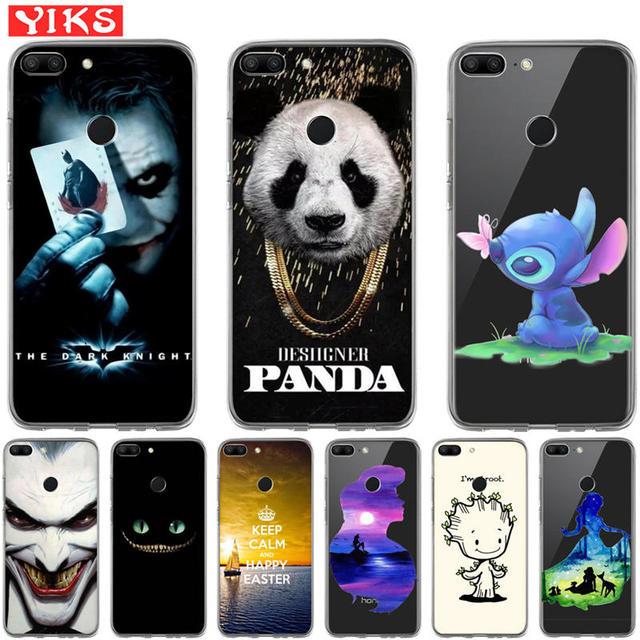 US $0 93 38% OFF|Luxury Mermaid Joker Coque For Huawei Honor 10 9 8 Lite 7  7A 7X 7C Por 6A 6X 8 X Pro Silicone Case Cover Fundas Capinha Etui-in