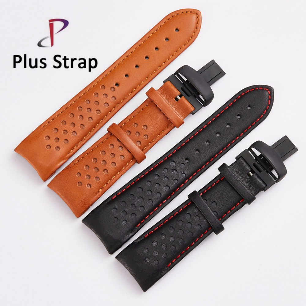 23 MM Genuine Leather Watch Band Strap for MIDO M025 Fashion Lady Belt Wristband Stainless Steel Folding Clasp Men Bracelet men s genuine leather watch strap for tissot mido waterproof calfskin leather watch band for fits all brand women bracelet belt page 1