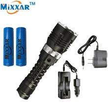 Zk30 LED 5000LM Дайвинг Фонарик Dive CREE XM-l2Torch Военной лампы Водонепроницаемый подводный 120 м факел для дайвинга фонарь