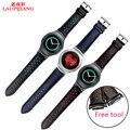 Laopijiang Samsung Gear S2 R720 спортивная версия смарт Часы Кожаный Ремешок Ремешок Для Часов