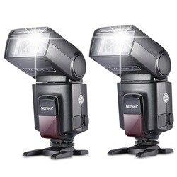 Neewer 2 sztuki TT560 Flash Speedlite do canona Nikon Fujifilm Pentax Sigma Minolta Leica z jednostykowym gorącym butem