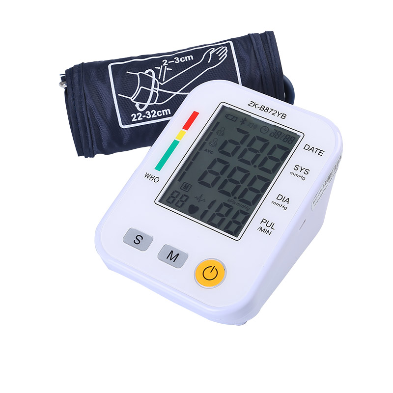 купить Home Old Man Upper Arm Type Automatic High Precision Electronic Sphygmomanometer Measuring Instrument Blood Pressure Monitor