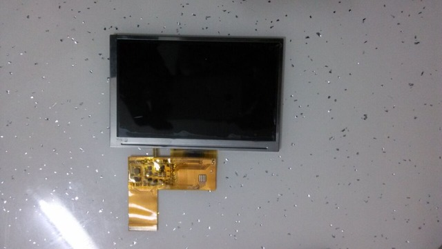 New 5 inch 40 pin hd LCD screen hw800480f-0f-0l-10 free shipping