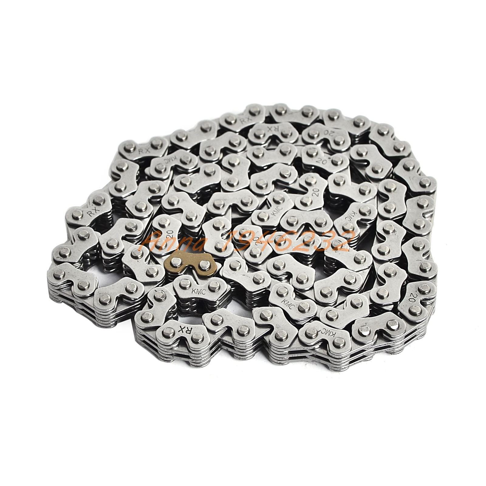 New KMC Camshaft Chain Cam Timing Chain For Yamaha FZR250 1986 1987 1988 1989 1990 1991 1992 1993