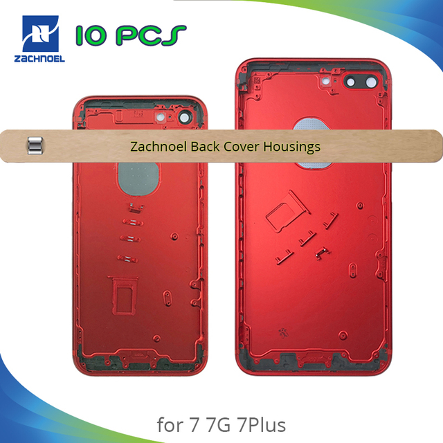 02b26c945bd 10pcs Back Housing for IPhone 7 7G 7Plus Plus Middle Frame Bezel Chassis  Back Battery Door