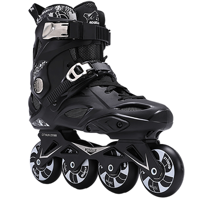 Adults Inline Skates Freestyle Slalom Roller Skating Boots Rocked Wheels Skate Patines For Women Men