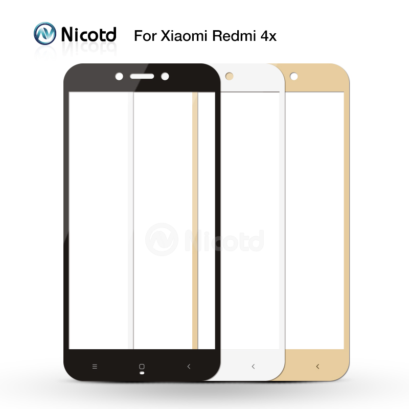 Full Cover Tempered Glass For Xiaomi Redmi 4X 4A 3s For Redmi Note 5A prime 5plus 3X Note 4 3 4X Screen Protector Toughened Film 2