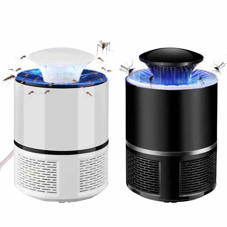 USB Electronics Mosquito Killer Trap Moth Fly Wasp Led Night Lamp Bug Insect Light Black Killing Pest Zapper 110V/220V