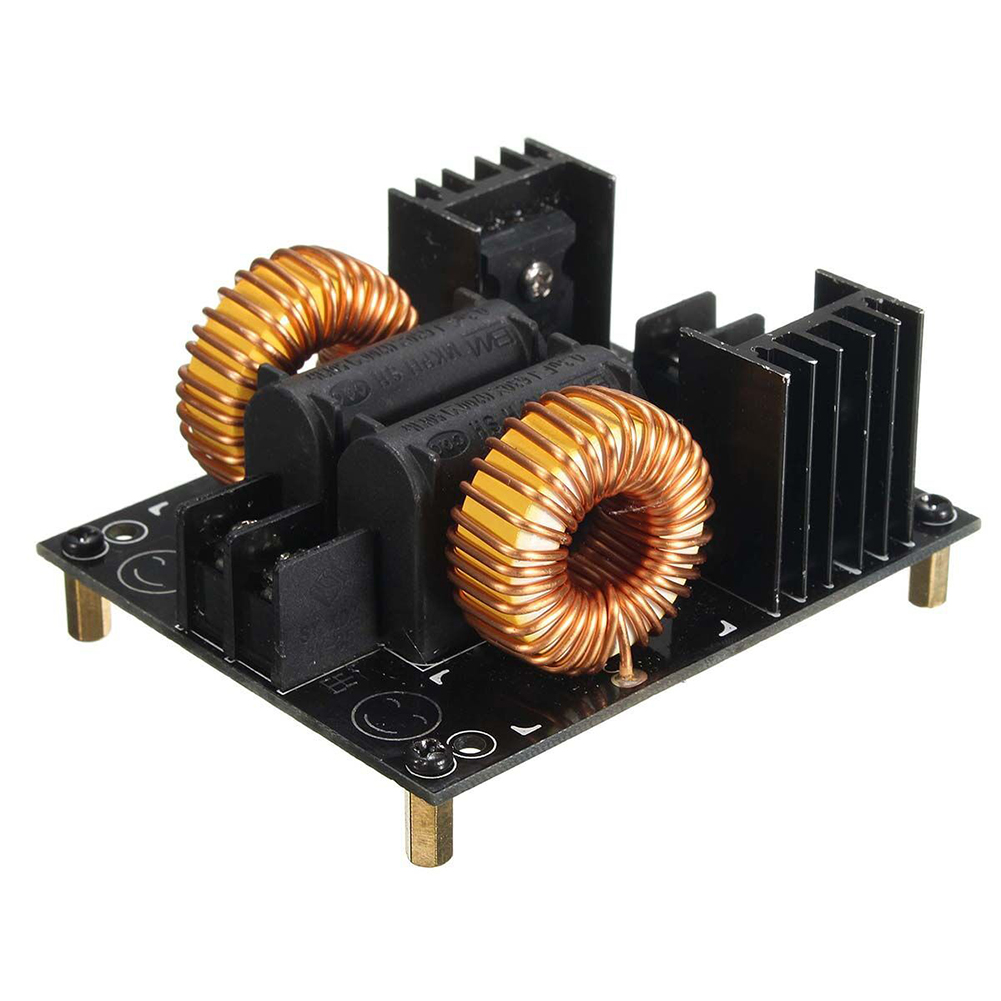 ZVS 1000W 20A Heating Module DIY For Flyback Driver Replacement Woodworking Parts Induction Board Low Voltage With Coil Heater