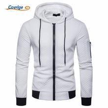 Covrlge Mens Hoodies Spring Autumn Sportswear Long Sleeve Casual Hooded Coat Brand Clothing Male Sweatshirt MWW136