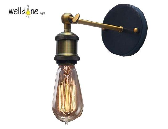Applique parete industriale frida ideal lux lampada da parete in