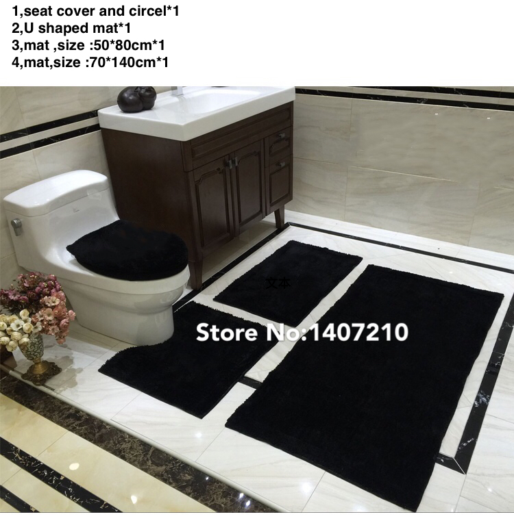 Aliexpresscom Buy black red bathroom rug white set bathroom rug