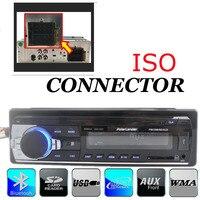 New arrival 12 V 1 một đơn din Car Stereo từ xa kiểm soát FM Âm Thanh MP3 Radio Player Support Bluetooth Điện Thoại USB/SD âm nhạc