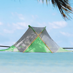 Image 4 - 220*200cm Suspended Tree Tent Ultralight Hanging Tree House Camping Hammock Waterproof 4 Season Tent for Hiking Backpacking