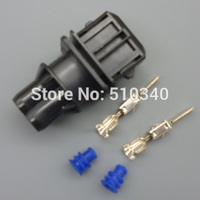 1 set 2 pin New  Waterproof   Electric Car  Injector nozzle plug oil to gas plug-in Methanol conversion connector
