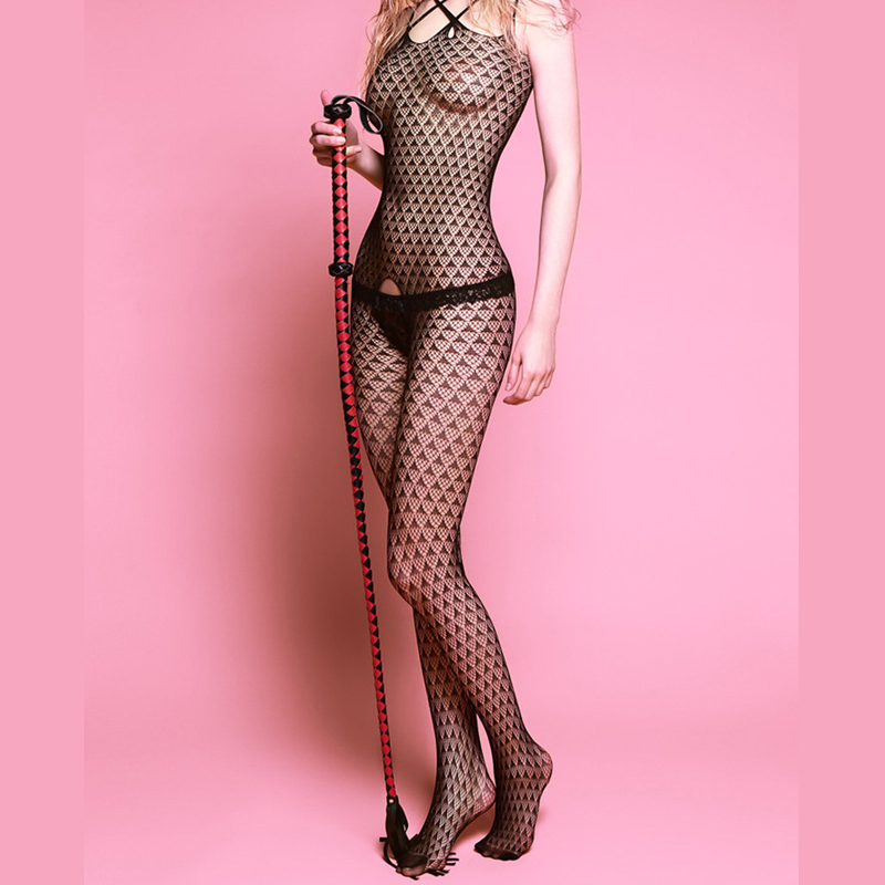 Perspective sexy temptation package hip one-piece fishnet stockings Open Pantyhose file fishnet stockings Sexy Tights