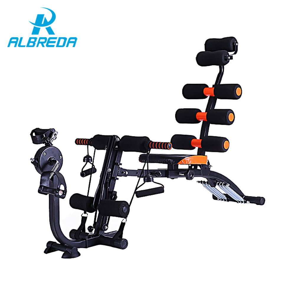 ALBREDA Fitness Equipment Multifunctional sit up board abdomen machine home fitness equipment men and women Slimming artifact tny туфли для девочки 2151 810 kbrdl sp 59rik белый tny