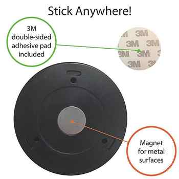 SOLLED Sliver Infrared PIR Motion Sensor 6 Led Night Light Magnetic Wireless Detector Light Wall Lamp Light Auto On/Off Closet