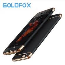 GOLDFOX для iphone 6 6 S зарядное устройство чехол 2500 мАч Внешний Банк питания Зарядка чехол для iphone 6 6 S резервного копирования батарея Чехол